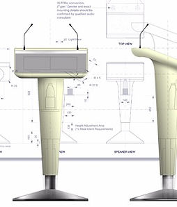Emanuel Leggo - Product Design & Furniture Design - Camelot  custom lectern