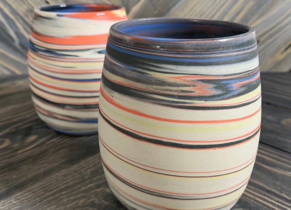 Marbled Cups - Set