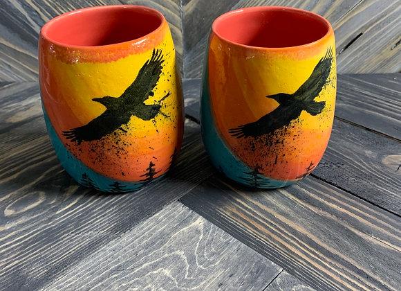 Raven Cup Set