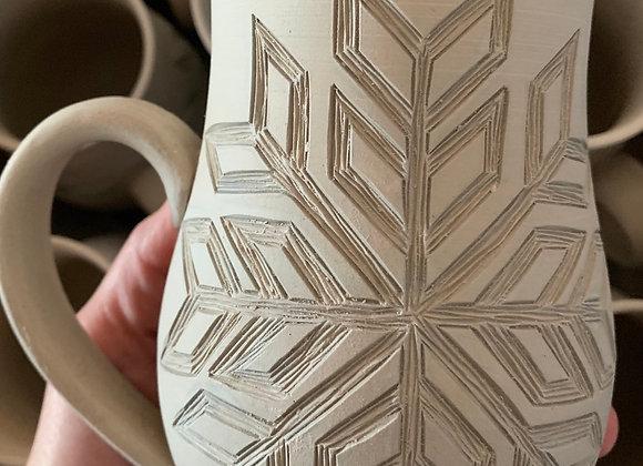 PREORDER - Snowflake - Geometric