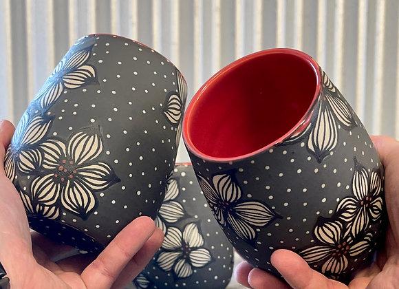 Dogwoods Cup Set