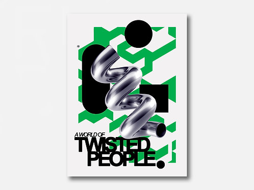 TWISTED PEOPLE poster art