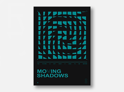 MOVING SHADOWS poster art