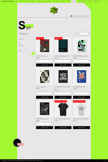 Outcome Graphics Store