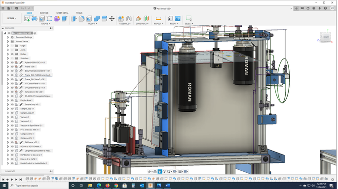 Complex CAD modelling