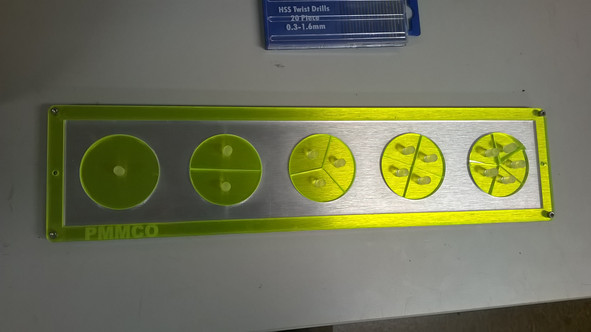 Custom education equipment.