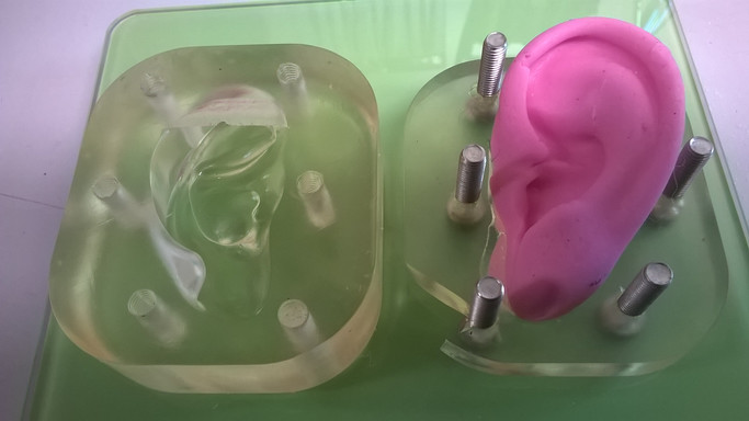 3 D printing moulds