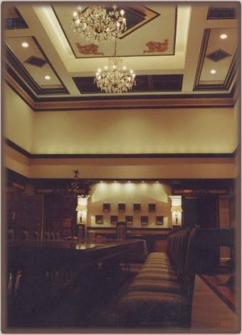 The formal dinning room.