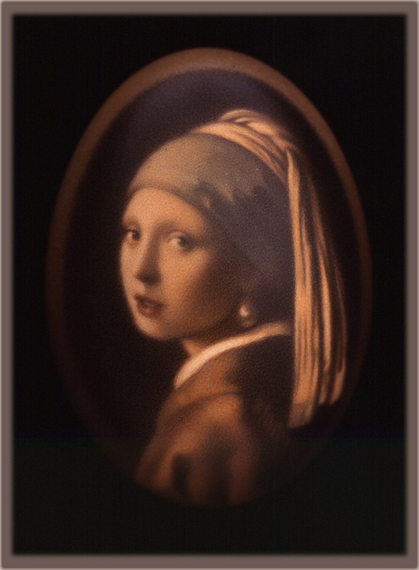 Vermeer's, Girl w/ the Pearl Earring