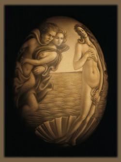 Botticelli's Birth of Venus (left)