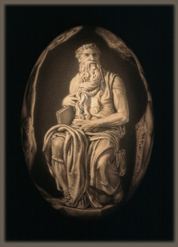 Michelangelo's Moses (front)