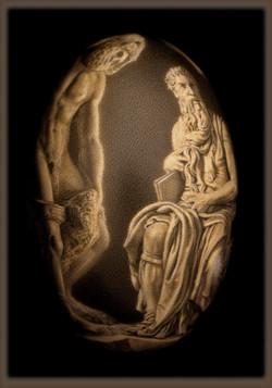 Michelangelo's Moses (L)