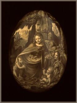da Vinci's, Virgin of the Rocks