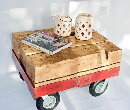 Beam Wagon Coffee Table