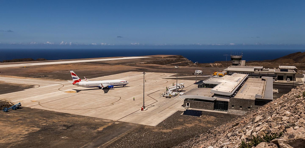 The St. Helena airport was supposed to boost the isolated island's economy, but has proved to be a massive failure. PAUL TYSON
