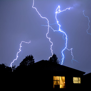 Lightning Doesn't Have To Strike Your House To Cause Serious Damage