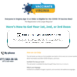 Get a Copy of Your Covid Vaccination Card