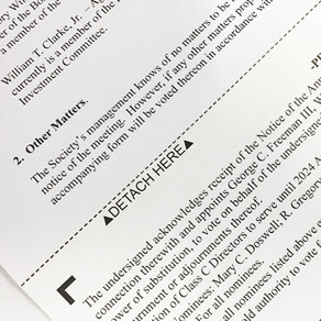 Hybrid Proxy Voting for 2021