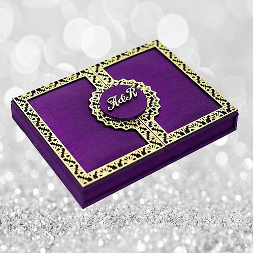 Silk Invitation (SAMPLE)