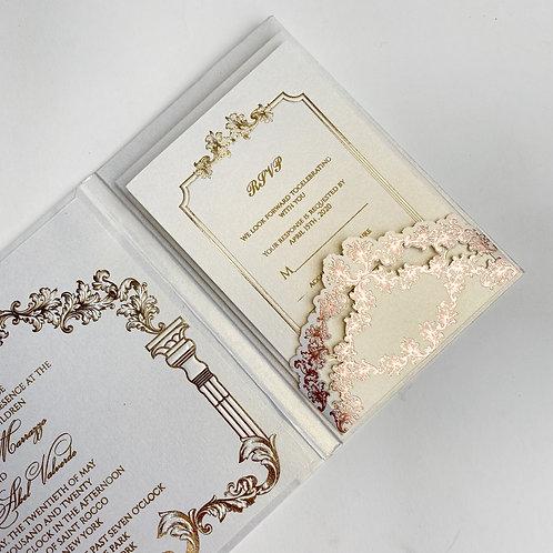 Foil Print Invitation(Sample)