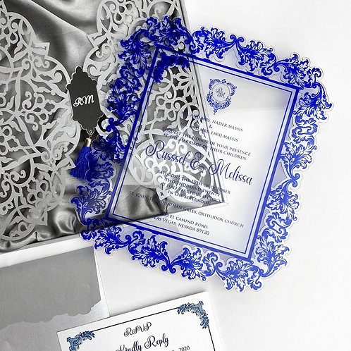 Acrylic Invitation (Set of 50)