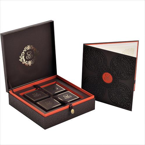 Simple Elegant Invitation Box(Set of 50)
