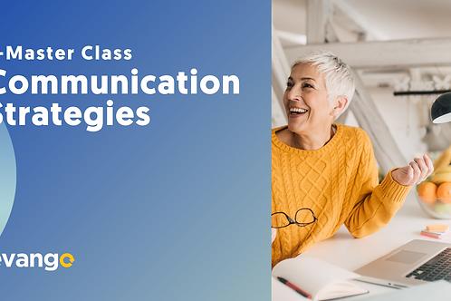 E-Master Class - Communication Strategies
