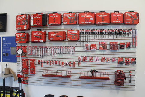 Milwaukee Tool Display
