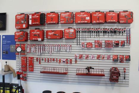Milwaukee Tool Display