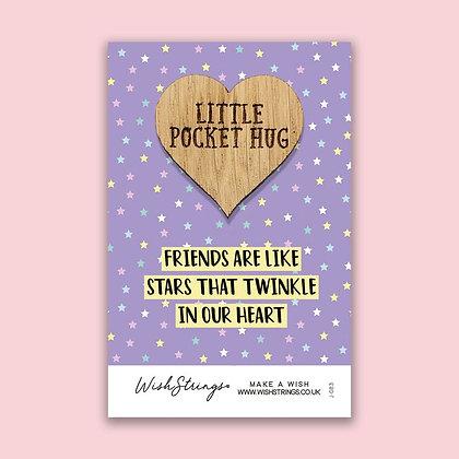 Little Pocket Hug - Oak Wish Token