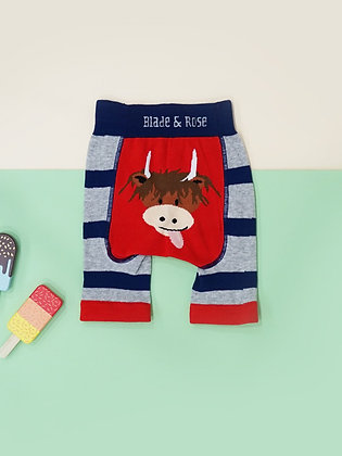 Blade & Rose Highland Cow Shorts
