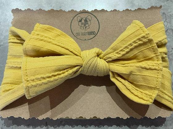 Stretchy Baby Bow Headband - Bananarama