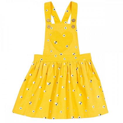Kite Honey Bee Pinafore Dress