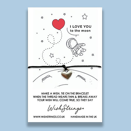 To The Moon & Back WishString