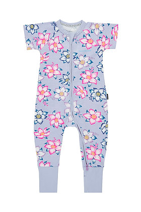BONDS Hawaiian Holiday Java Short Sleeve Wondersuit