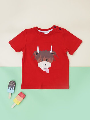 Blade & Rose Highland Cow Tshirt