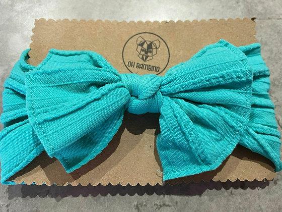 Stretchy Baby Bow Headband - Gumball