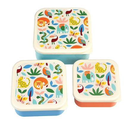 Wild Wonders 3 Pack Lunch Box's