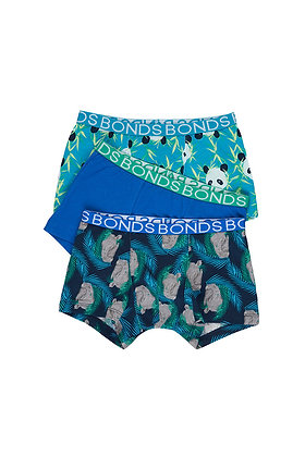 BONDS Rodney Rhino 3 Pack Trunk