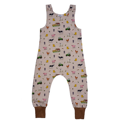JECO 'A Day At The Farm' Dungaree's