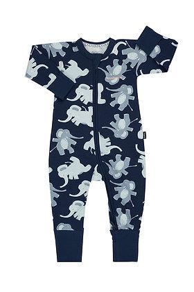 BONDS Dancing Elephant Navy Wondersuit