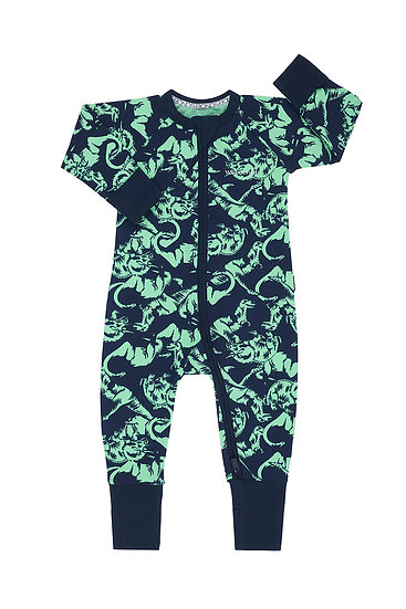 Dinosaur Arena Navy Wondersuit