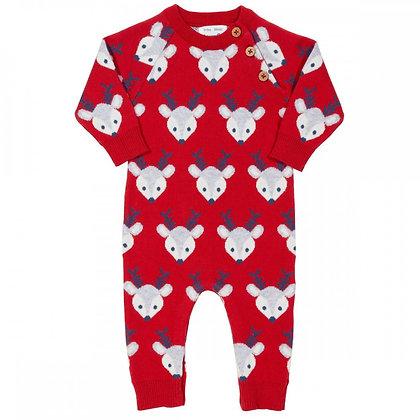 KITE Christmas Reindeer Knit Romper