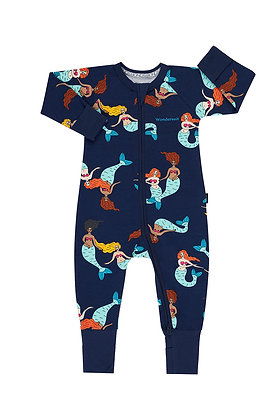 NEW BONDS Miraculous Mermaids Navy Wondersuit
