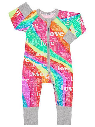 BONDS Super Rainbow Pride Wondersuit