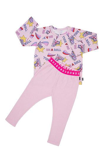 Kids Pyjama Set - On A Roll