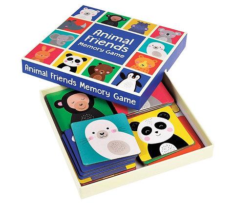Animal Friends Memory Game
