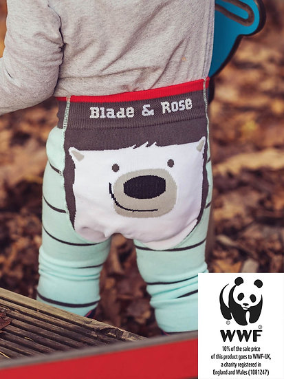 WWF Polar Bear Leggings