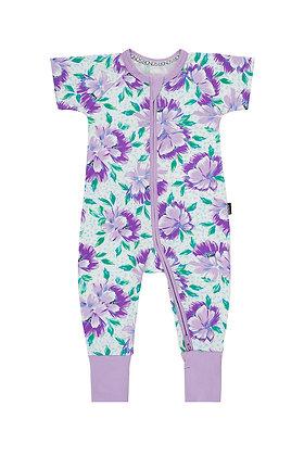 BONDS Cosmic Floral Short Sleeve Wondersuit