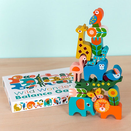 REX London Wild Wonders Wooden Balancing Game